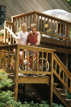 How to Build Stairs for a Deck