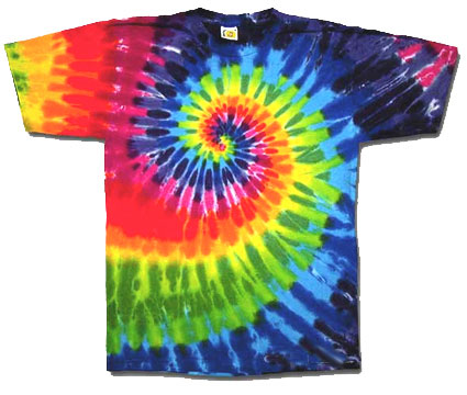 Tye dye mania for Making a tie dye shirt